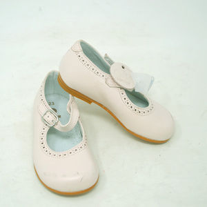 OTS Leather Toddler Girls Pink Mary Jane Shoes
